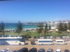 Bondi Beachの目の前です。海好きの方大歓迎。