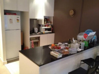 One person (own room) in 2 bed 2 bath apt on Collins St