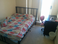 Clean second room in the city