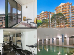 Luxury apartment in pyrmont