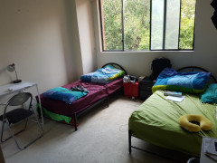 second twin room $120