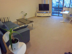 Leafy and quiet own room!