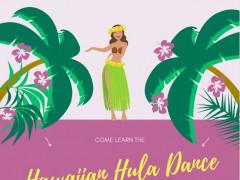 毎週水曜日のハワイアンフラダンス教室!