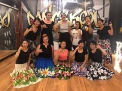 毎週水曜日と土曜日のハワイアンフラダンス教室