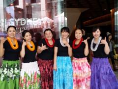 土曜日のハワイアンフラダンス教室