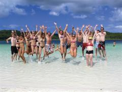世界最大の砂の島!世界遺産で働く