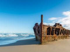 世界最大の砂の島!世界遺産内でハウスキーピング
