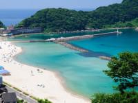 海の色が違う!自然いっぱい竹野海岸でのお仕事★英語活かせる