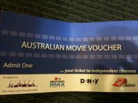 MOVIES VOUCHER (EVENT / HOYTS / IMAX VOUCHERS) $12 & $17