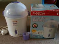 PEGEON 哺乳瓶スチーム消毒器 $20 (値下げしました)