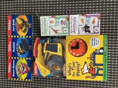 幼児本と幼児単語カードセット $5.00