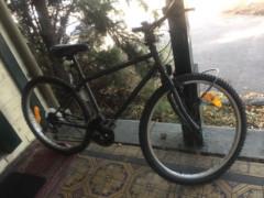 ライト,ヘルメ付き自転車