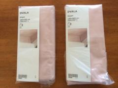 未使用新品 IKEAのシングルベッドシーツ2枚セット