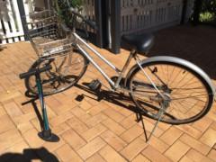 ブリジストン自転車&ヘルメット&空気入れ全部で50ドル