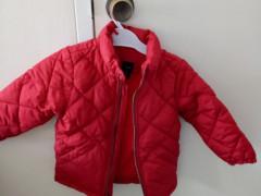 女児 冬用ジャケット 2才〜4才