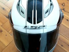 LS2 オートバイ用ヘルメット(XL)$25
