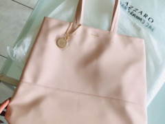 $40AZZARO limited pink bag