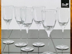 S&P Butterfly Wine Glass