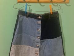 【H&M】デニムスカート