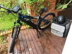 ウーバーイーツ用 電動自転車売ります!$1,100