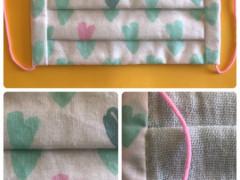 🍀手作りマスク🍀日本製のゴムを使用しています ☆彡