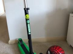 Glinder XL スクーターとヘルメット値下げしました
