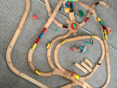 $45木製電車セット