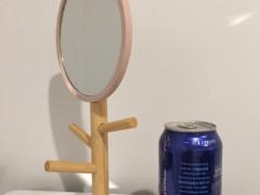 卓上ミラースタンド 鏡 $8
