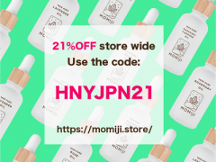 21%OFF Happy New Year Campaign