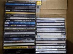 古本とポピュラー音楽のCD箱の中の物全てで15ドル