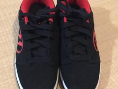 HEELYSシューズ(赤X黒)21cm $50