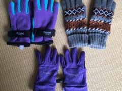 子供用手袋 サイズS・M/3~7歳 各3