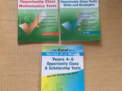 Excel OpportunityClassテスト3冊$45