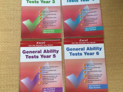 Excel GA Tests(Year3-6) 各$12