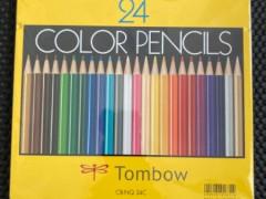 トンボ 色鉛筆