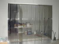 We supply SEE_THRU STRIP DOORS FOR SHOP OR RESTAURANT