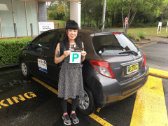 日本語での自動車教習