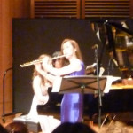 ピアノとフルートのデュオコンサート開催