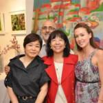 チャリティー・アート・オークション@ Yuga Floral Design & Café Gallery