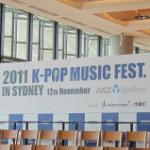 K-POP MUSIC FESTIVAL SYDNEY 2011