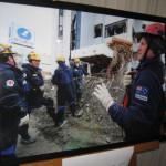 震災の慰霊と復興を願う式典を開催