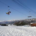 スキーがしたくなった!