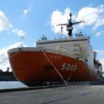 南極観測船 しらせがシドニーに寄港
