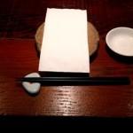 寿司スタジオ 割り箸やめました!
