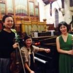 実力派アーティストMirabellaによる「Trio Concert Series 2014」が開催