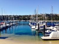 ヨットクラブで絶景を眺めながら週末ランチ!