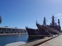 日本の練習艦隊がシドニーに寄港