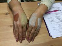 メディカルアロマのレッスンで、お肌のお手入れや、ヘアケアーも学べます。