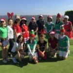 ウェイクハーストゴルフクラブにて12月の月例会を開催