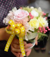 M's Studioのプリザーブドフラワー講座を体験! 「いつまでも美しい花」のアレンジメントに挑戦しました☆